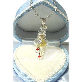 AK^~香氛珠寶 ^~金箔魔法瓶^~ 精油瓶 香水瓶 香氛項鍊