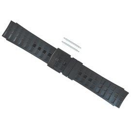 SUUNTO 公司貨 Elementum All Black Rubber Strap Kit 專用抗過敏橡膠錶帶(適用 Terra Aqua Ventus)