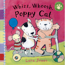 ~ 小貓觸摸拼圖書~WHIZZ WHOOSH POPPY CAT