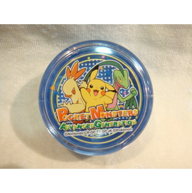 Pokemon 神奇寶貝  圓形強力吸鐵製物盒 4973307066535