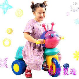 蜜蜂三輪車P072-TR-02(兒童腳踏車三輪自行車.手推車.輔助輪.兒童車.騎乘車.騎乘玩具.專賣店推薦哪裡買)