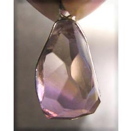 稀少紫黃晶墜鍊~淑女款~天珠水晶玉神器活現開運
