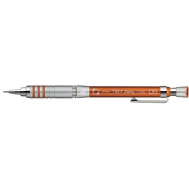 ZEBRA MA-41 Tect 2way搖按兩用自動鉛筆0.5橙桿