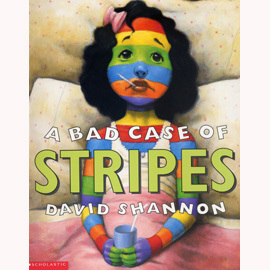 ~小熊媽的 英語繪本~BAD CASE OF STRIPES~條紋事件糟糕啦!~