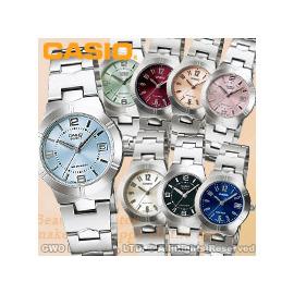 CASIO手錶 卡西歐 LTP~1241D系列 女錶 不繡鋼錶帶 強力防刮礦物玻璃 一次觸