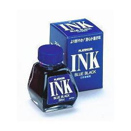 PLATINUM INK~400白金牌鋼筆 瓶裝藍色墨水30CC