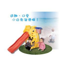 小白兔溜滑梯P072-SL-07(造形溜滑梯.兒童遊樂設施.戶外休閒.親子互動.小朋友兒童用品.推薦專賣店哪裡買)