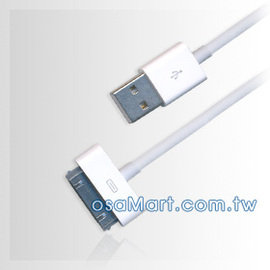 【贈 彩繪絨布保護套】APPLE iPhone4/iPhone 4S/iPod Touch USB CABLE usb原廠傳輸充電線/傳輸線