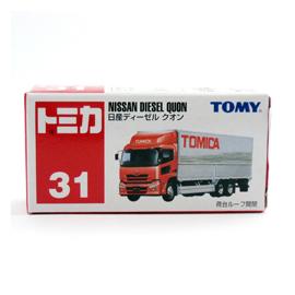 日本TOMY TOMICA 多美小汽車【TM031 NISSAN DIESEL QUON 】