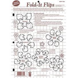 摺紙型版 Fold~It Flips Template ^(7325^)