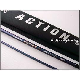 ◎百有釣具◎太平洋POKEE ACTION 餌木專用竿 軟絲竿 規格9尺 ~[限量送SHIMANO捲線器]