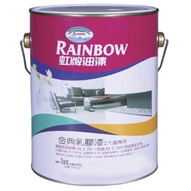 綠建材系列室內漆~虹牌金典乳膠漆(加侖)★顏色鮮豔  耐水耐檢耐水洗~