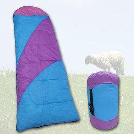 輕巧中空棉+羊毛睡袋.露營用品.戶外用品.登山用品.休閒 P049-9026
