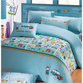 Countess ~ B16 ~ ~樂活社區~雙人4件式床包兩用被組