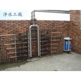 【淨水工廠】全戶型水塔過濾器~20吋大胖雙管腳架型...除氯除雜質的好幫手(大台北地區含運費及安裝)