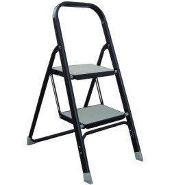 2階摺疊式工作梯/豪華梯  收納方便輕便好用  贈送工作手套與防塵口罩