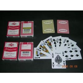 Excalibur ARISTO 金色撲克牌