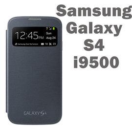 【促銷出清】三星 SAMSUNG Galaxy S4 i9500 S View 透視感應原廠皮套/側掀視窗保護套/福利品