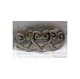 結婚 ∼純錫製髮飾隨身幸運 ∼休閒飾品金屬 髮夾  ^(愛心系列^)PH~069