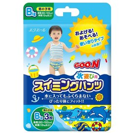 日本大王男童游泳尿褲 M/L/Big
