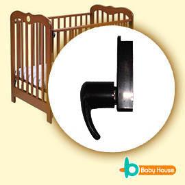 [ Baby House ] 愛兒房-嬰兒床活動門欄/上方煙斗接片x1