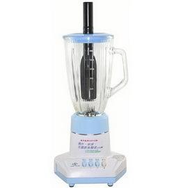 永久牌 多功能冰沙果汁機(玻璃杯 )1500CC YK-105 藍色款