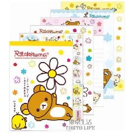 Rilakkuma 懶懶熊大型便條本 內頁附贈同款貼紙!