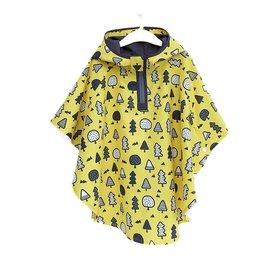 【日本】兒童尼龍雨衣-4色