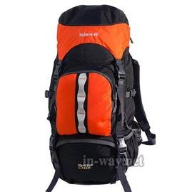 inway 挪威香港合作品牌 健行登山自助旅行背包 SAHARA40