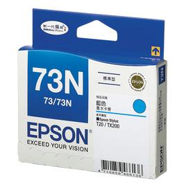 EPSON C13T105250 73N  T20 TX200 容量藍色墨水 NO.73N