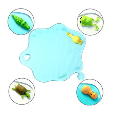 钩织青蛙杯垫图解