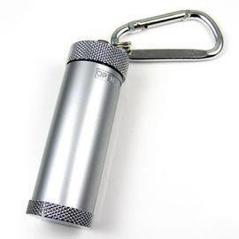 登山扣型 吊飾煙灰缸 金屬合金 迷你煙灰缸 隨身攜帶菸灰缸 鑰匙圈煙灰缸 旋轉開蓋式 圓柱