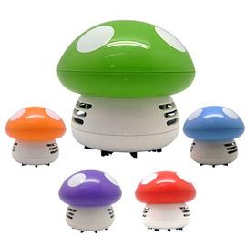 【熱銷好評】蘑菇桌面吸塵器 裝電池吸塵器 筆電鍵盤清潔器 攜帶型吸塵器 迷你吸塵器