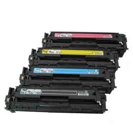 HP 環保碳粉匣CB540A黑色CB541A藍色CB542A黃色CB543A紅色 單支