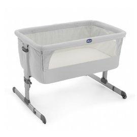 義大利【Chicco】Next 2 Me多功能移動舒適嬰兒床(雪銀白)