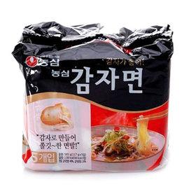 ~易購樂~韓國 暢銷^~農心馬鈴薯麵5入^(包^) 好吃又健康無負擔^!