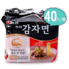 ~易購樂~韓國 暢銷^~農心馬鈴薯麵40入^(箱^)