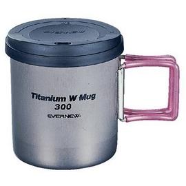 日本製造 EVERNEW 最新 鈦合金真空個人鍋具(大斷熱杯).鈦炊具.重:107g # EBY273
