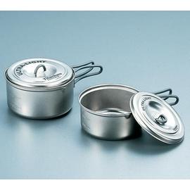 日本製造 EVERNEW 超輕量鈦合金陶鍋具組(S).鈦炊具.極輕處理.重:210g【優惠專案】