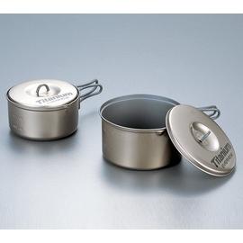 日本製造 EVERNEW 鈦合金陶瓷鍋具組(M).鈦炊具.不沾鍋處理.總重:310g【優惠專案】