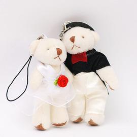 【花現幸福】☆婚禮對熊27元☆小熊 婚禮小物 喜糖  紗袋  DIY材料