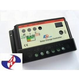 10A12V 24V 升級版 太陽能板控制器 ~ 亮度感應 計時