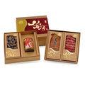 【黑橋牌】豪錦山海味禮盒A(原味黑豬肉香腸、香菇、烏魚子、干貝魚翅罐)