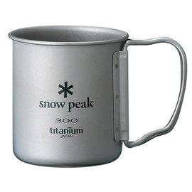 【日本 Snow Peak】鈦製 單人300ML單層杯/折疊把手(炊具.爐具.水壺.咖啡杯)鈦杯.茶杯 MG-042FH