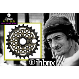 I.H BMX  SHADOW MAYA 齒盤 25T JORIS COULOMB簽名款