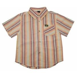 賠售價99元休閒直條紋襯衫^(100~140CM^)