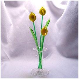 ^~皇后森林~ 玻璃^~~~玻璃擺飾~花草系列~~禮贈品 擺飾