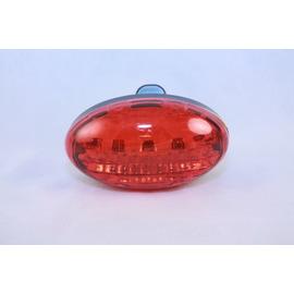 自行車5 LED 蛋型自行車燈/尾燈/白/紅兩色可供選擇