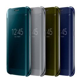 【全透視感應皮套】三星 Samsung Galaxy S6 edge G9250/SM-G9250 原廠皮套/透明側掀保護套/背蓋殼