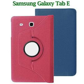 【旋轉、斜立】三星 SAMSUNG Galaxy Tab E 9.6 T560 平板專用 荔枝紋皮套/書本式保護套/支架展示